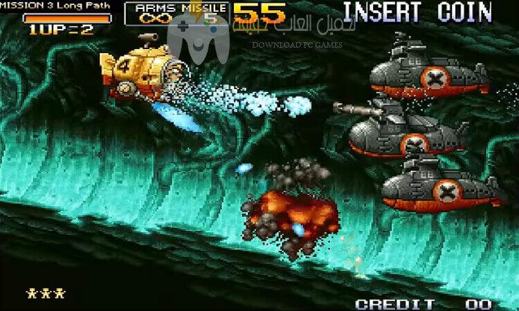 تحميل لعبة حرب الخليج 3 Metal Slug للكمبيوتر