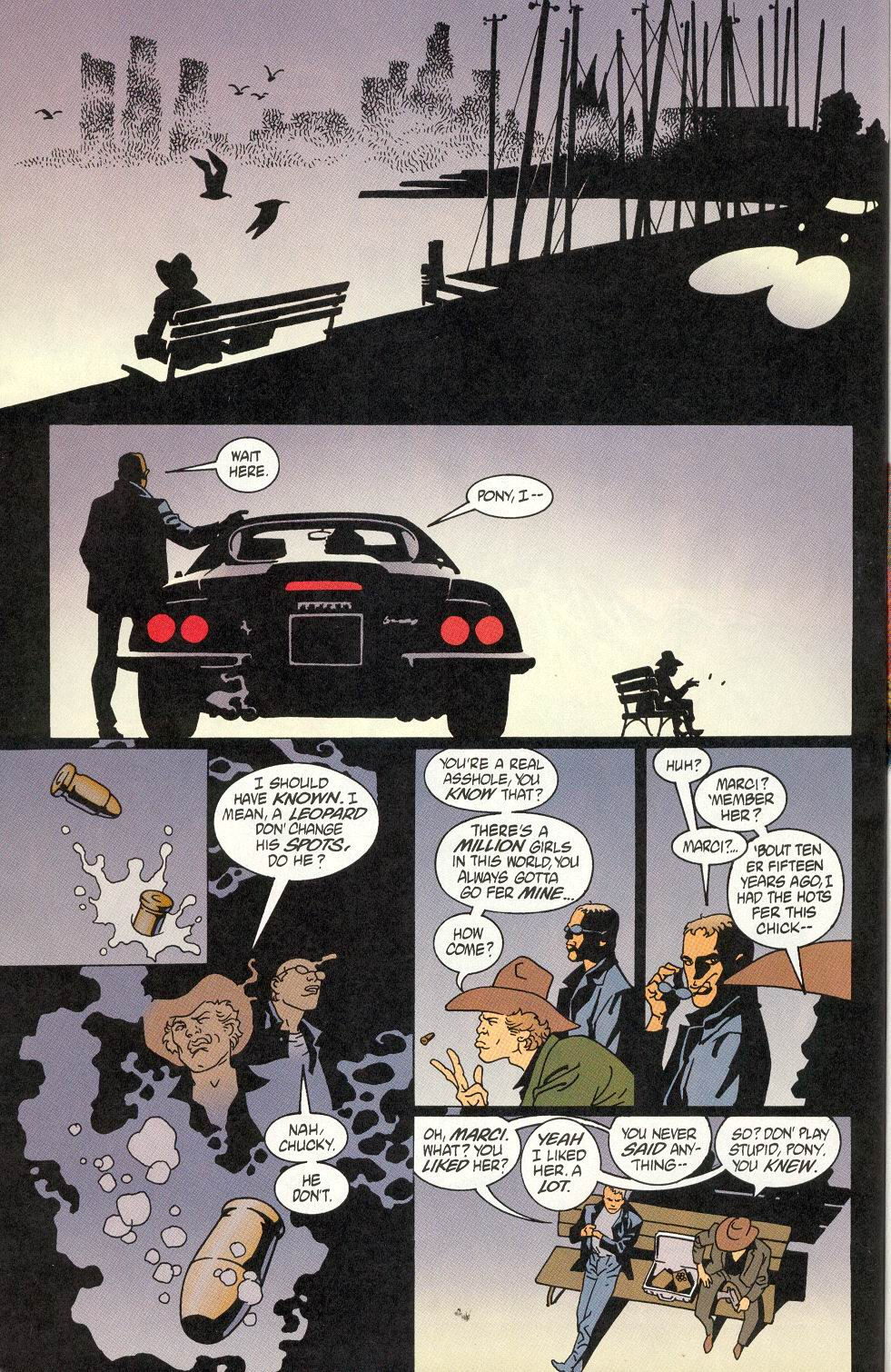Read online 100 Bullets comic -  Issue #7 - 19
