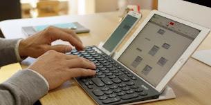 Logitech K780 Keyboard Tanpa Kabel Untuk Tiga Perangkat