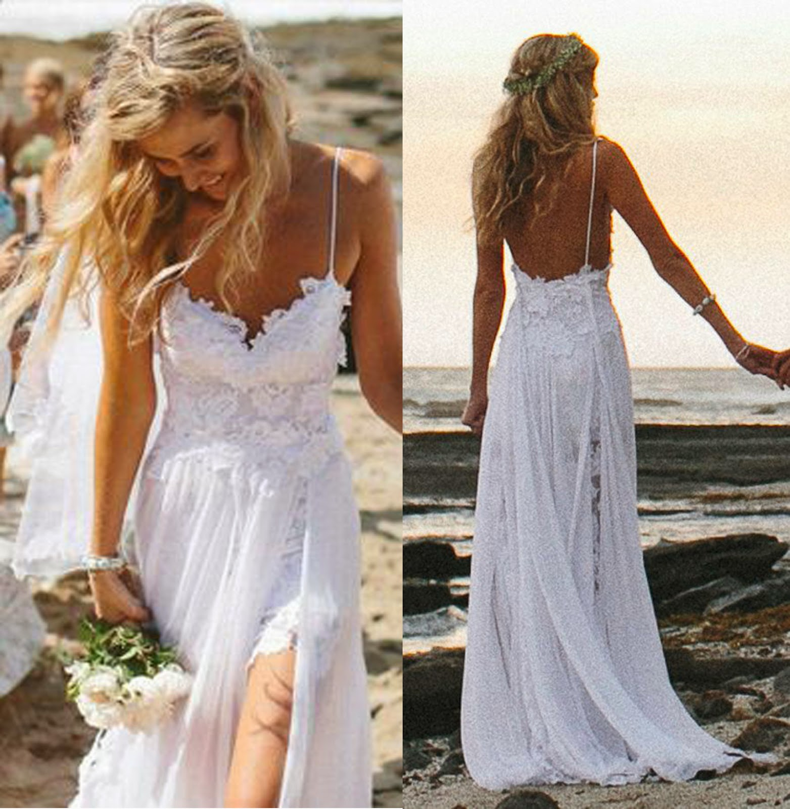 Beach Wedding Gown: Natasha Wedding Essentials: Summer Beach Wedding Ideas