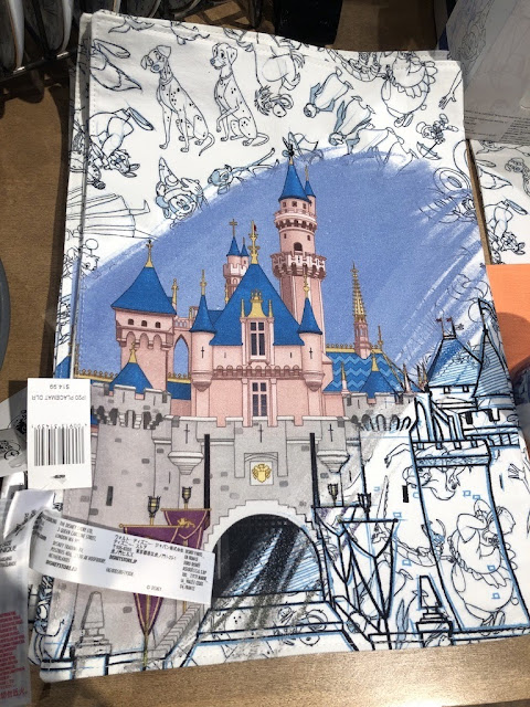 Ink & Paint Sleeping Beauty Castle Placemat