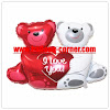 Balon Foil Love Bear Mini