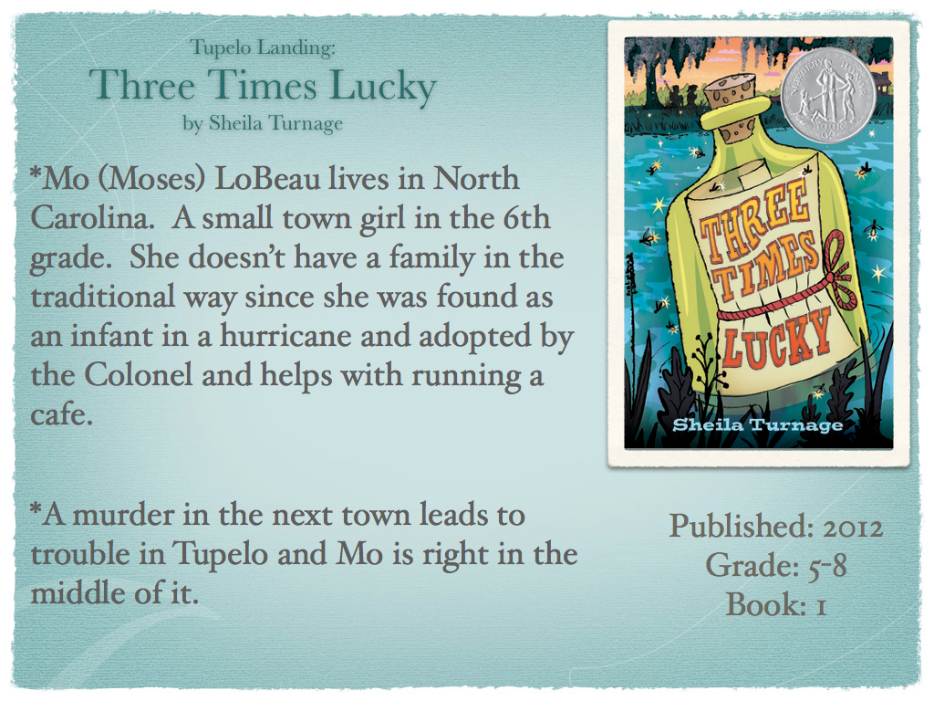 Young adult reading machine tupelo landing three times lucky by tupelo landing three times lucky by sheila turnage fandeluxe