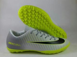 Nike Mercurial Victory VI Turf pure platinum , Sepatu futsal premium, Sepatu futsal import , Sepatu Futsal Murah