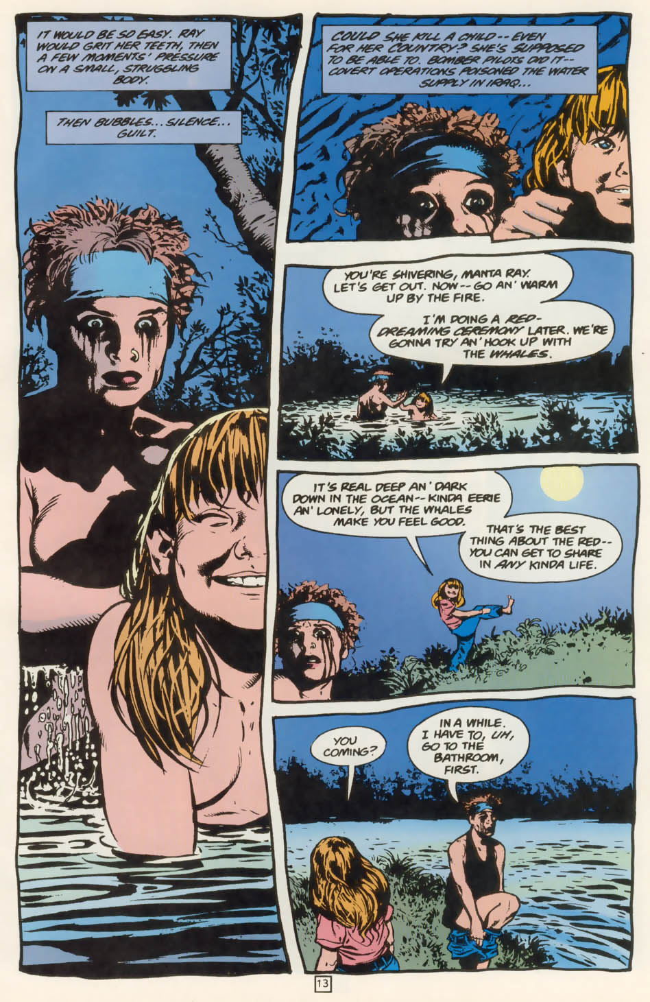 Read online Animal Man (1988) comic -  Issue #76 - 14