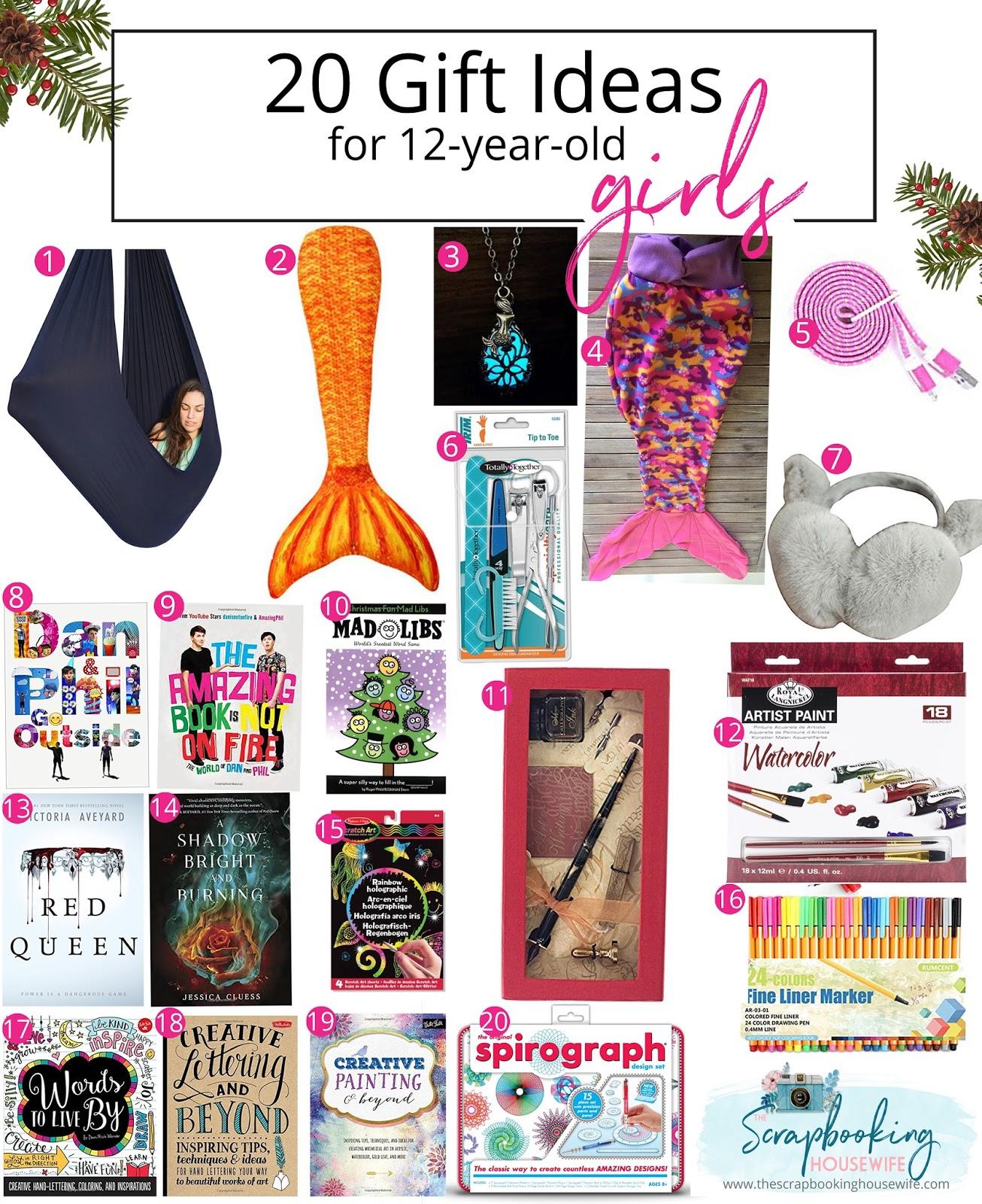 Christmas Gift Ideas 12 Year Old Girls - Eskayalitim