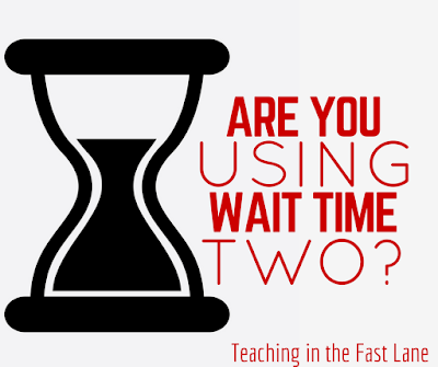 The life changing miracle that is wait time two in the classroom.