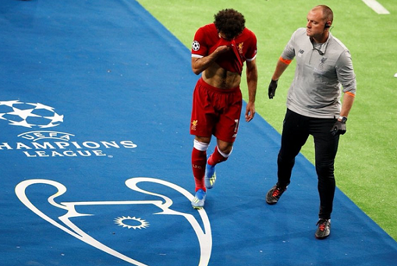 Mohamed Salah is set to travel to Spain for medical treatment