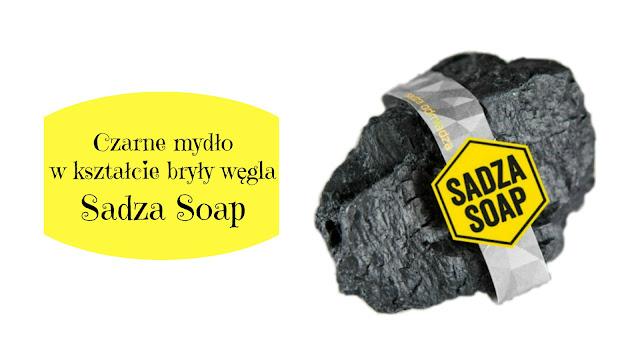 RECENZJA: Czarne mydło w kształcie bryły węgla | SADZA SOAP