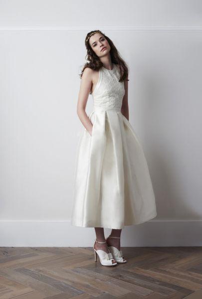 Vestidos de novia tobillos