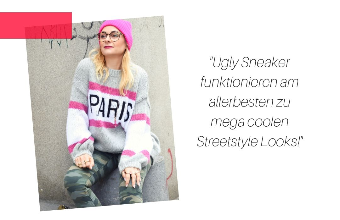 Wie style ich Ugly Sneaker als Frau über 40?