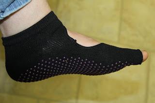Toeless Yoga Socks 5