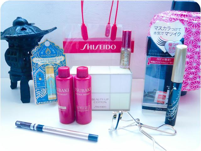 Contenu du lucky bag Shiseido