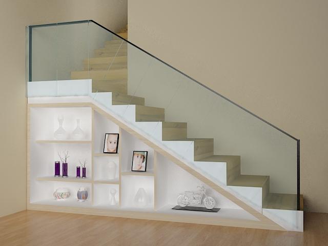 TFQ architects: Desain memanfaatkan area bawah tangga ...