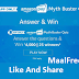 Myth Buster Quiz Answer Win Rs 4000
