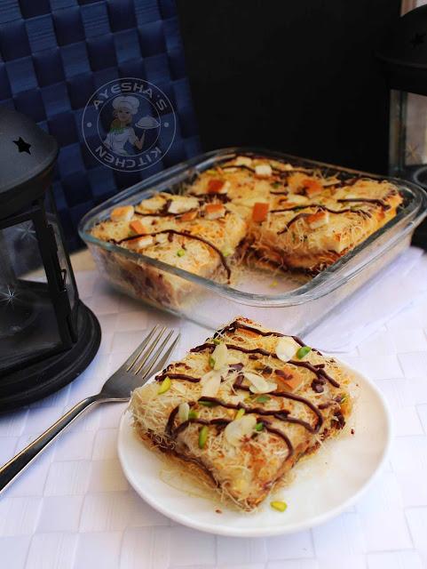 kunafa recipe bread recipes chattipathiri