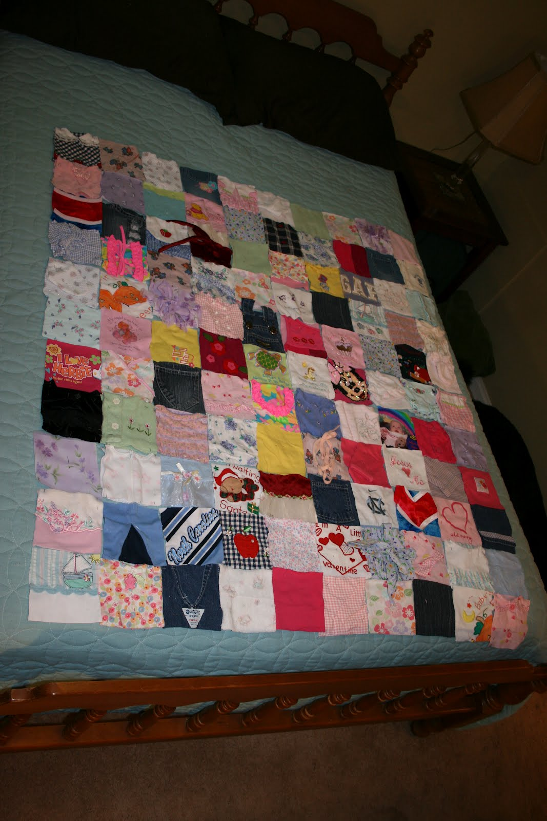 Simple Creations By Andrea: Memory Quilt Tutorial-Get
