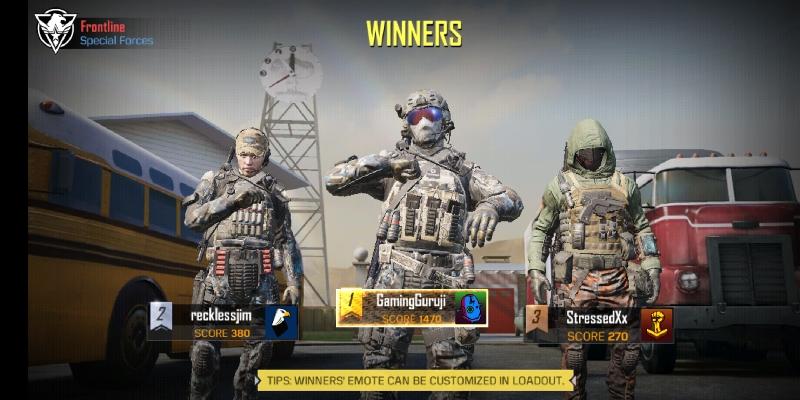 COD mobile game screenshot