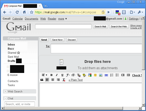 Upload files Gmail style using jQuery and HTML 5 | jQuery By