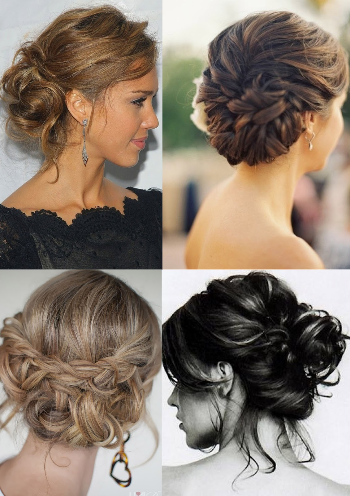 Try A Messy Bun Or A Stunning Pin Up Hair Style