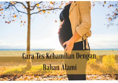 5 Cara Tes Kehamilan Dengan Bahan Alami