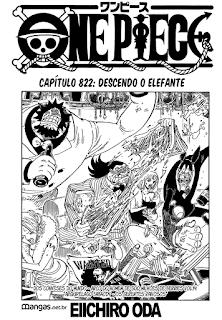 One Piece 822 Mangá Português leitura online
