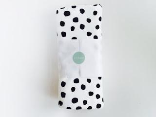 modern polka dot baby blankets