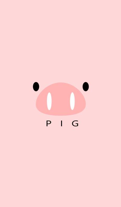SIMPLE PIG(pink)Ver.2
