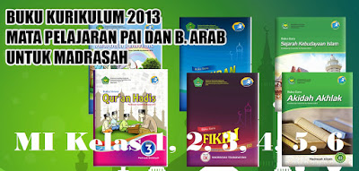 Download Buku Bahasa Arab Kelas 1, 2, 3, 4, 5, 6 MI ...