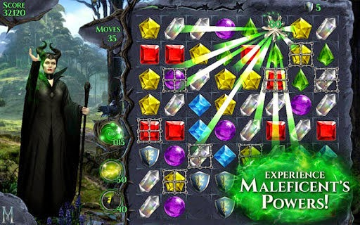 The best hitting game Frozen Free Fall comes to Android amongst  Maleficent Free Fall 1.0.0 APK