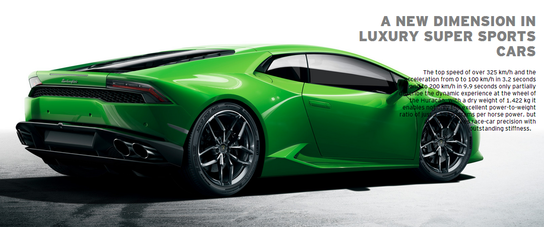 Exceptional THE NEW LAMBORGHINI HURACÁN LP 610 4: A NEW DIMENSION IN LUXURY SUPER  SPORTS CARS