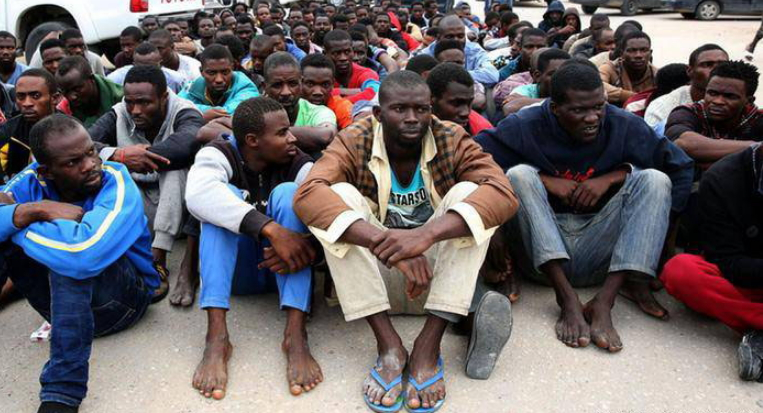 desperate africans paying slavery libya