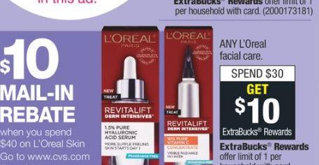 FREE L'Oreal Facial Care