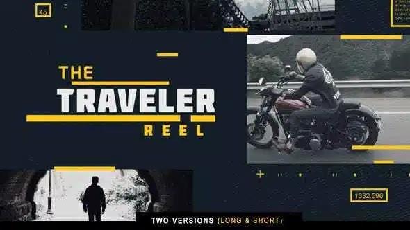 Videohive The Traveler Reel 15438491