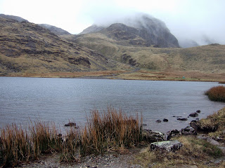 Styhead tarn and Great End