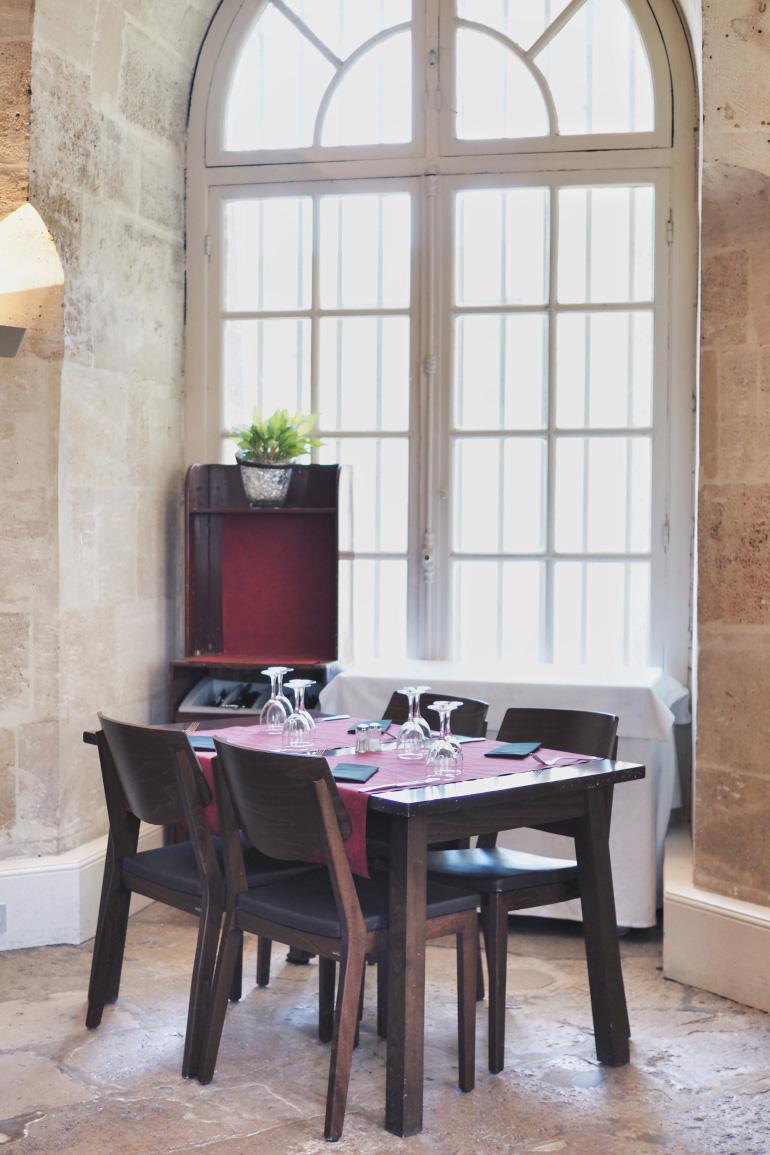 Le restaurant du château de Chantilly : la capitainerie