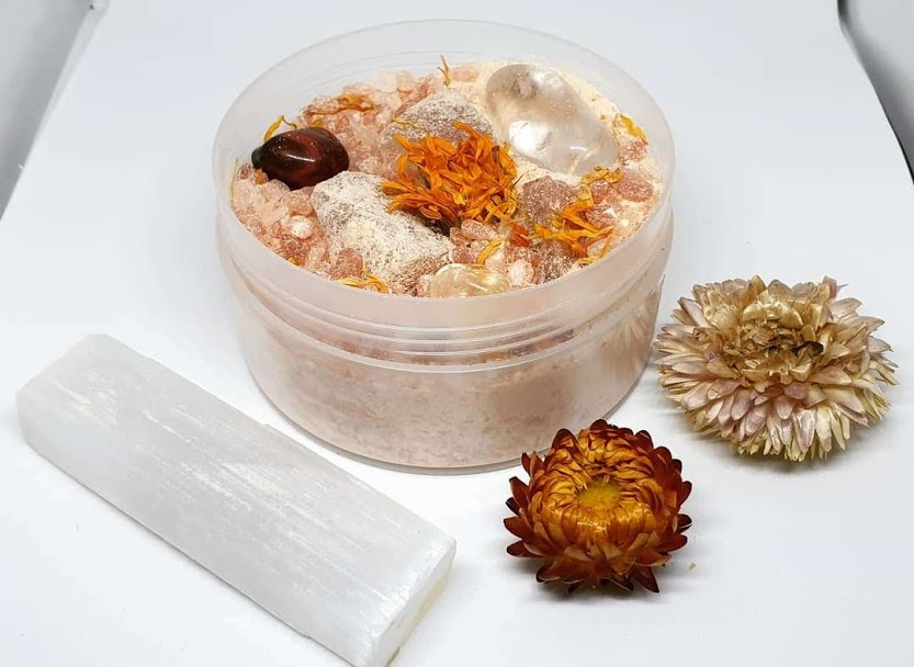 Desert Flower Bath Salt Herbal Blend