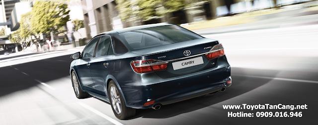 toyota camry 2015 toyota tan cang 12 -  - So Sánh Toyota Camry và Honda Accord : Hiện đại đối đầu với truyền thống