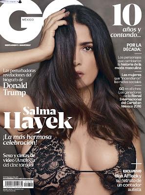 Salma Hayek - GQ Mexico 2016 Noviembre (27 Fotos HQ)