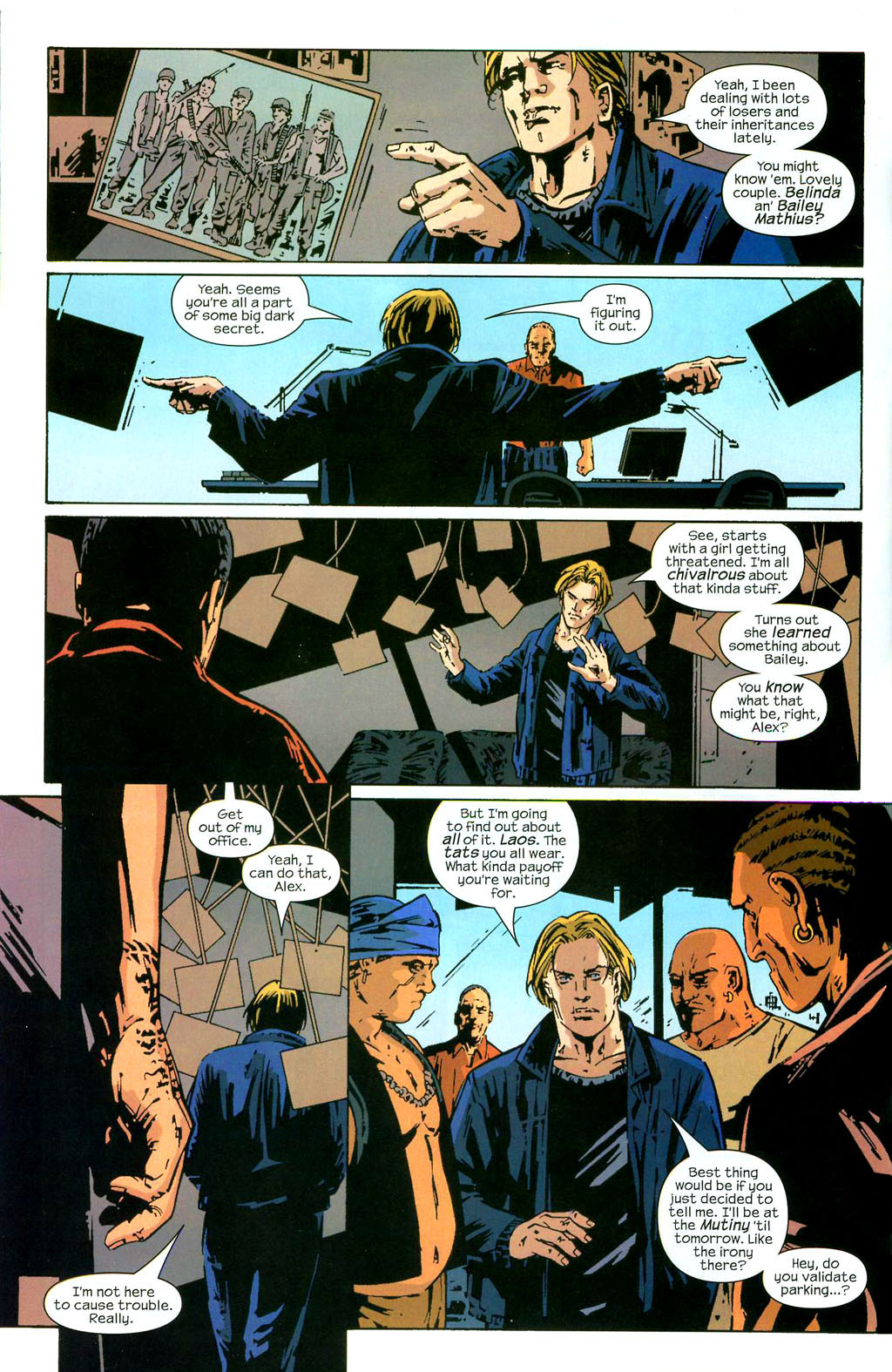 Hawkeye (2003) Issue #3 #3 - English 9
