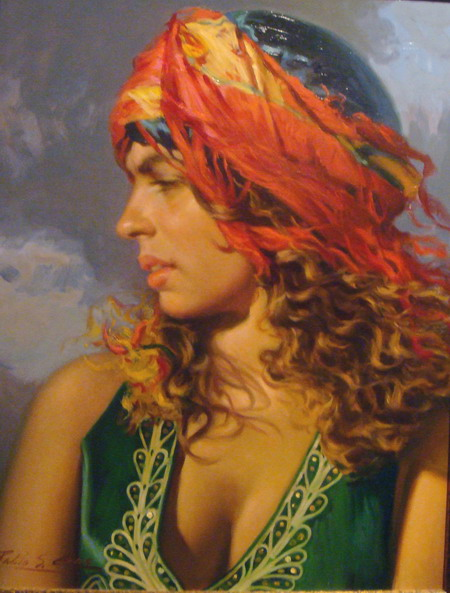 Reflection in the Light of Day | Portrait art, Female art ... |Realistic Figurative Painting