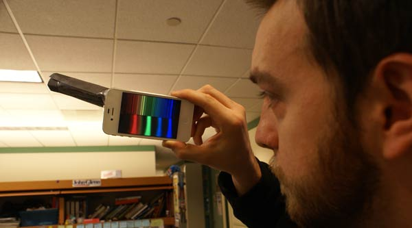 Turn Your Phone Into a Spectrometer — For Free!