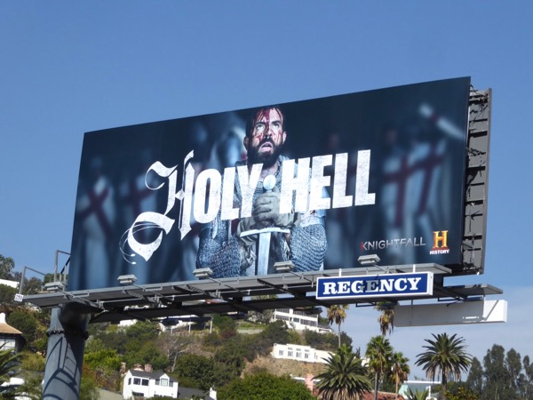 Holy Hell Knightfall billboard