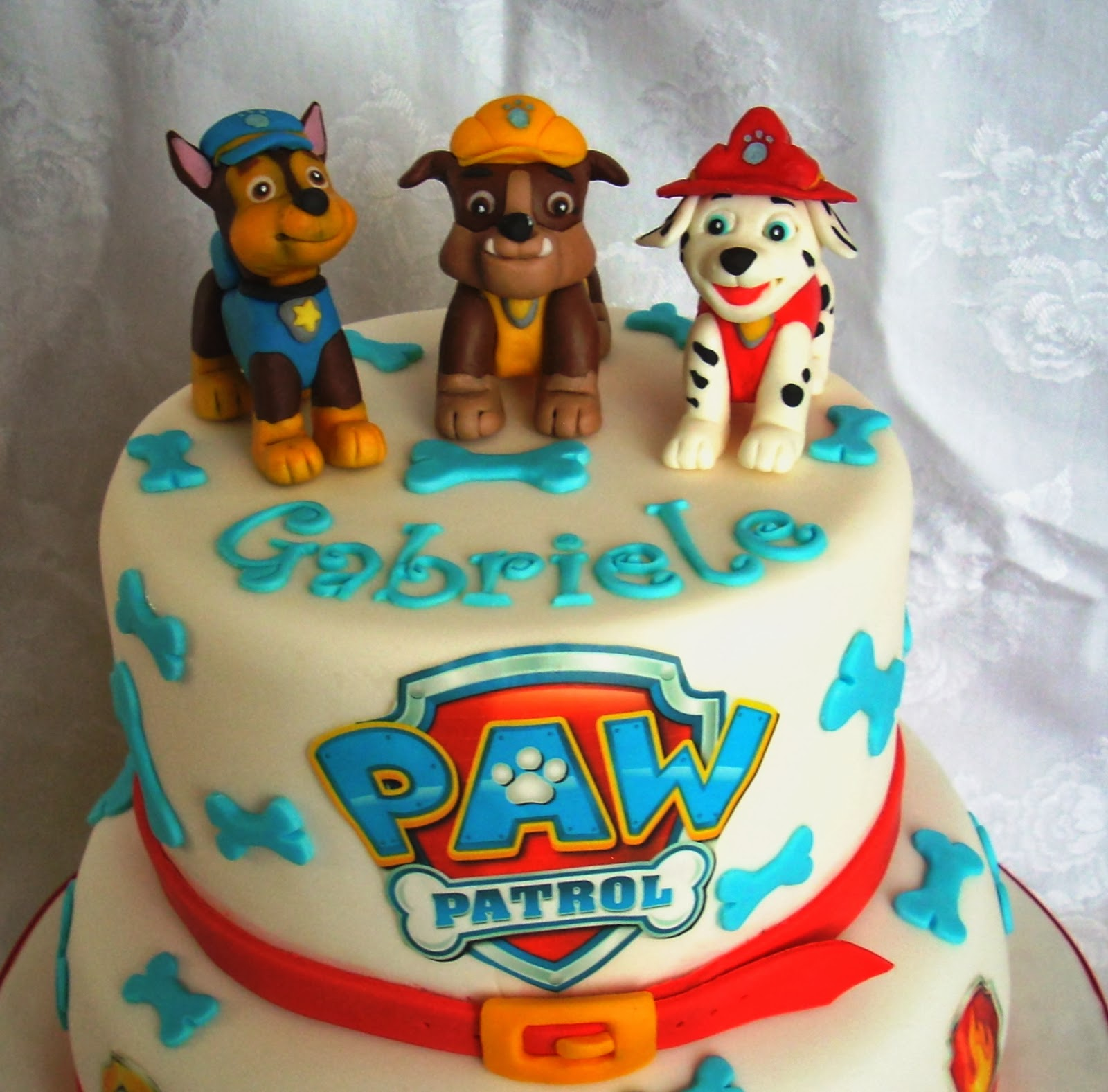 Estremamente Creattivamente: Paw Patrol cake: dolci cuccioli per il piccolo  HL62