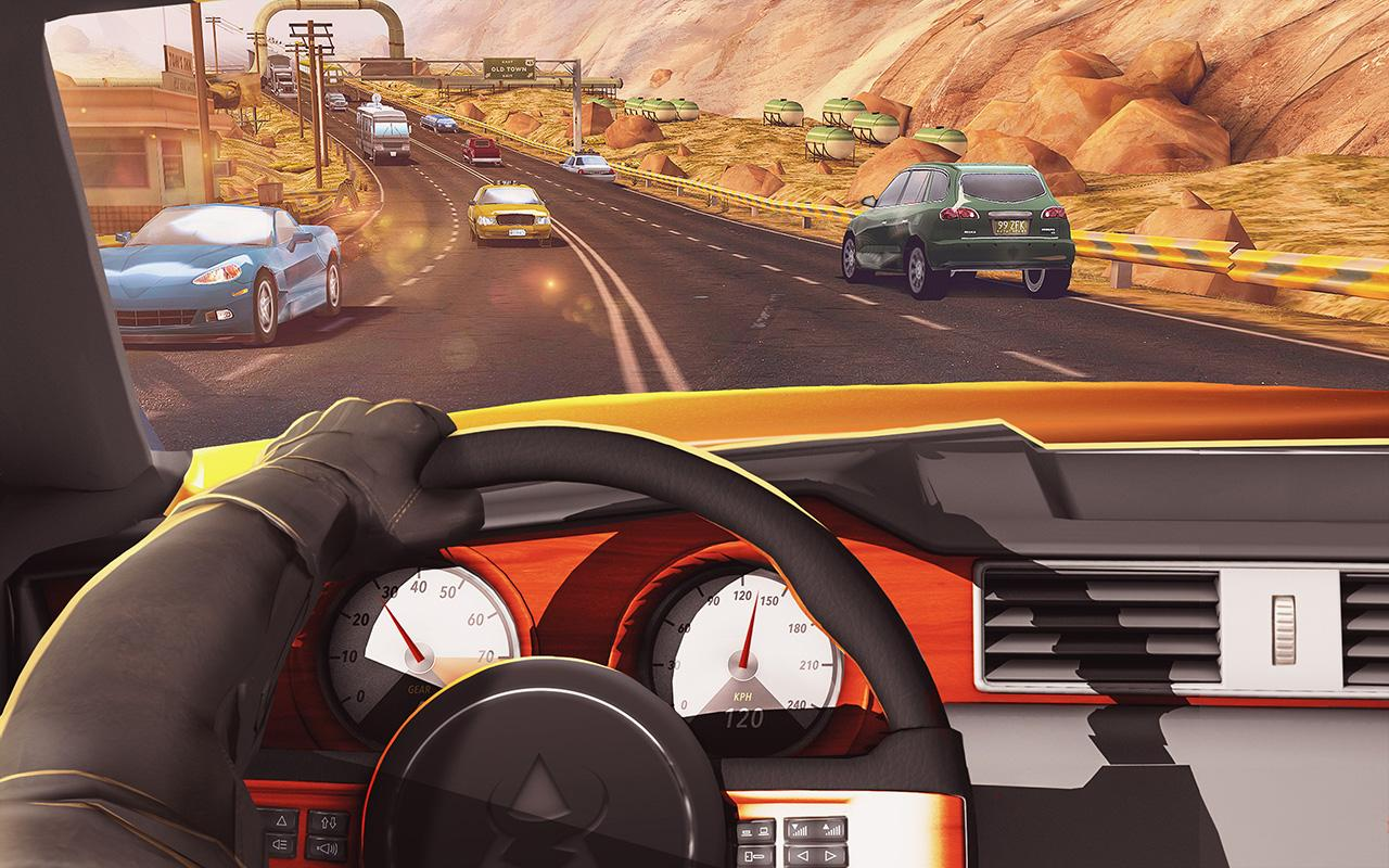 Traffic Xtreme 3D Fast Car Racing Highway Speed MOD APK