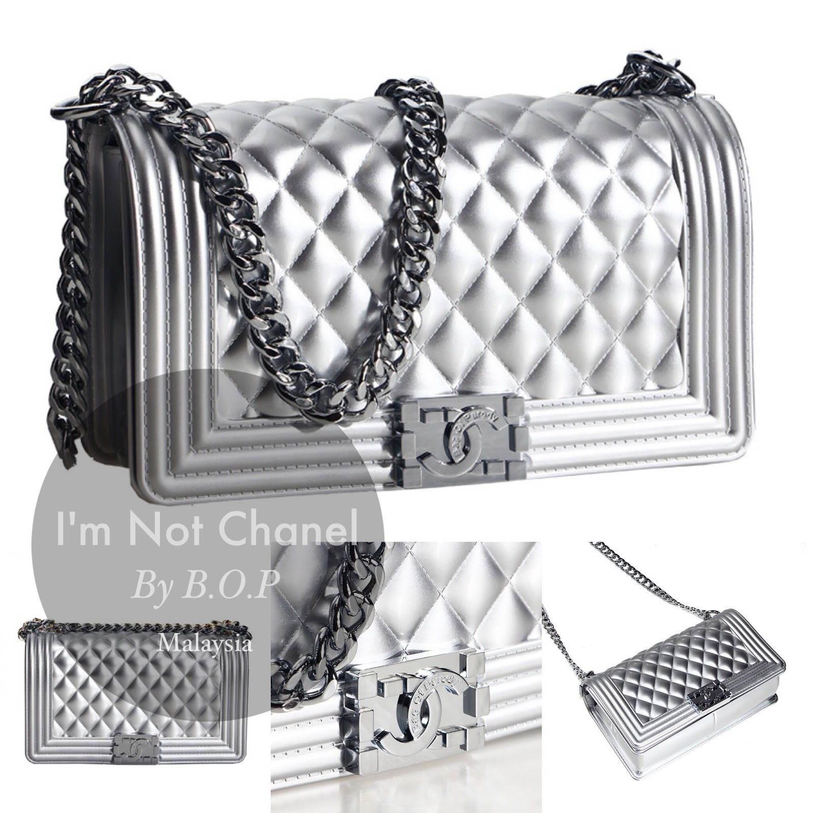 031bd72d05b3 I'm NOT CHANEL by Bag Of Parody
