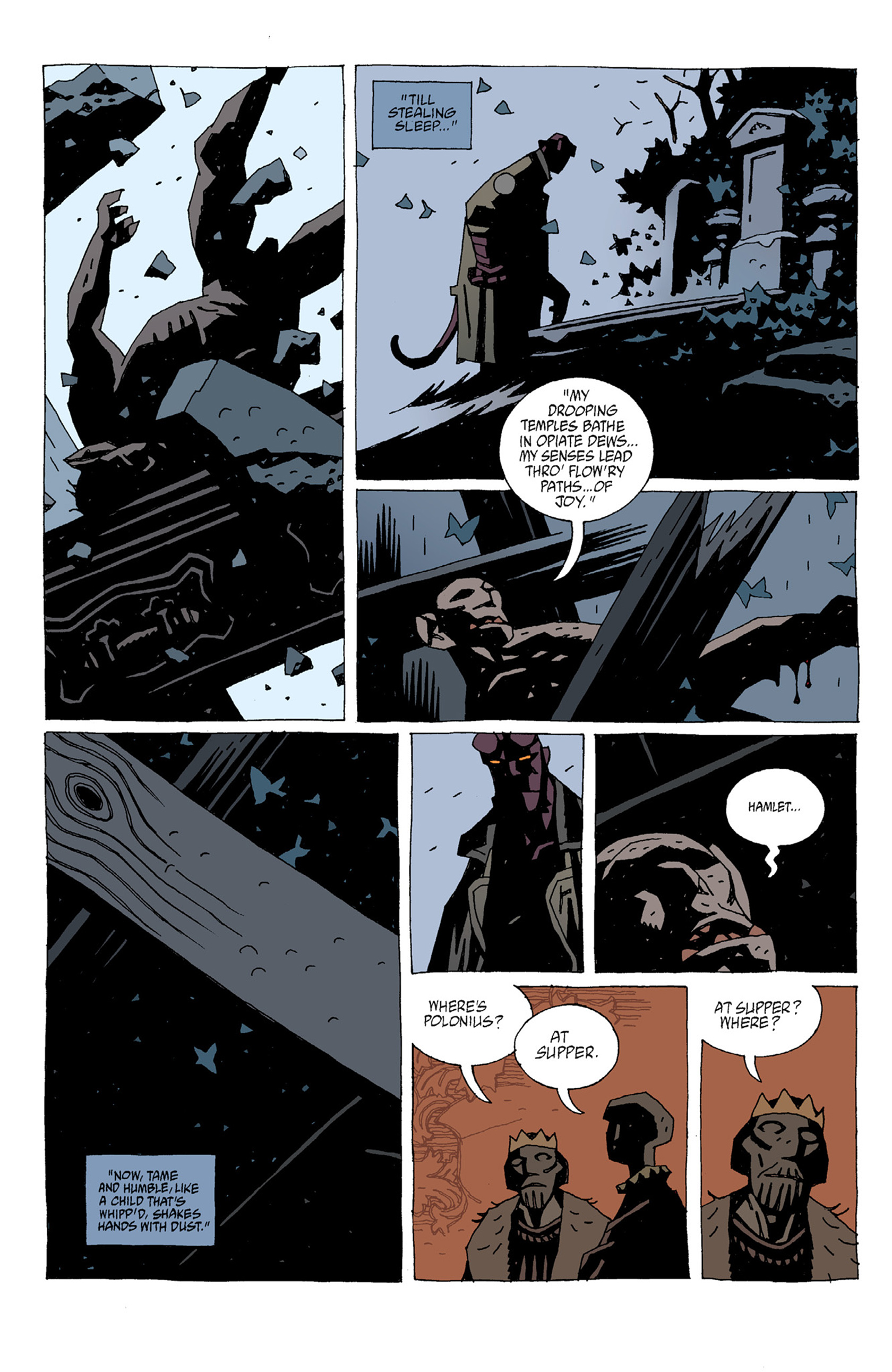 Read online Hellboy: The Troll Witch and Others comic -  Issue # TPB - 78