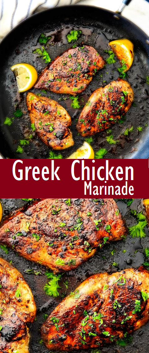 Easy Greek Chicken Marinade Recipe For Dinner