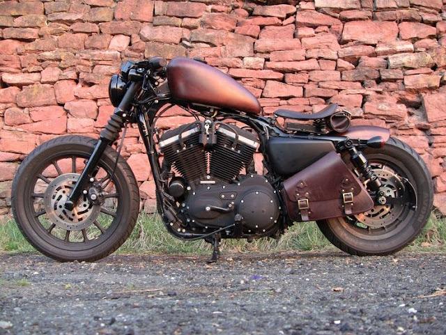 Xe môtô Harley Davidson 883 độ đẹp nhất trên thế giới