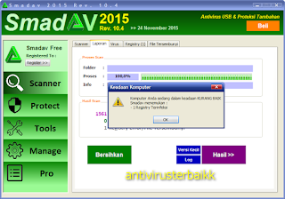 Cara scan virus dengan antivirus Smadav